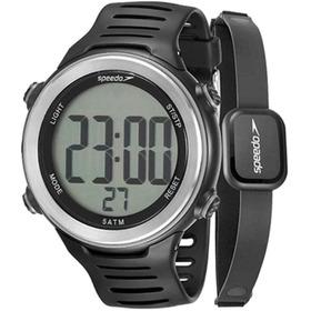 Kit Relógio Digital Speedo C/ Monitor Cardíaco 66001g0emnp