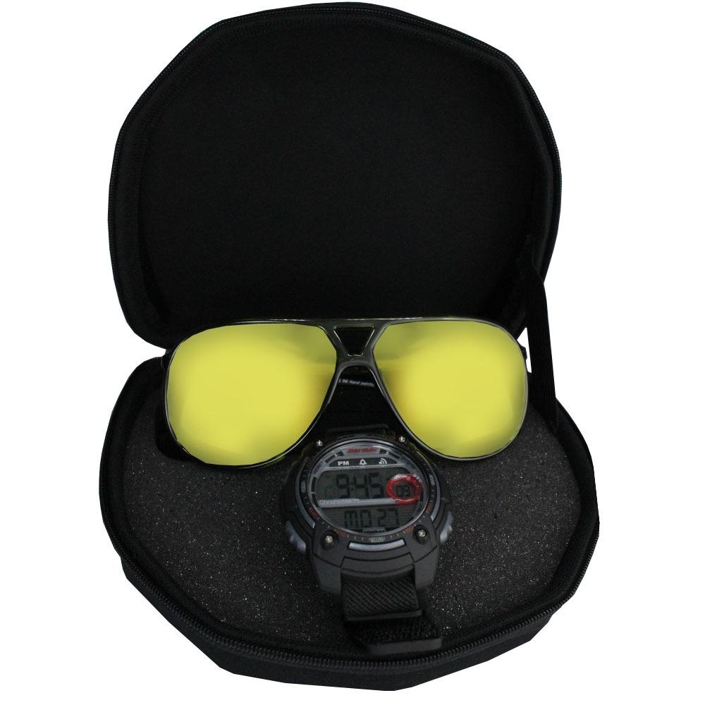 3cf775867d7 kit relógio e óculos mormaii masculino mo15oc 53. Carregando zoom.