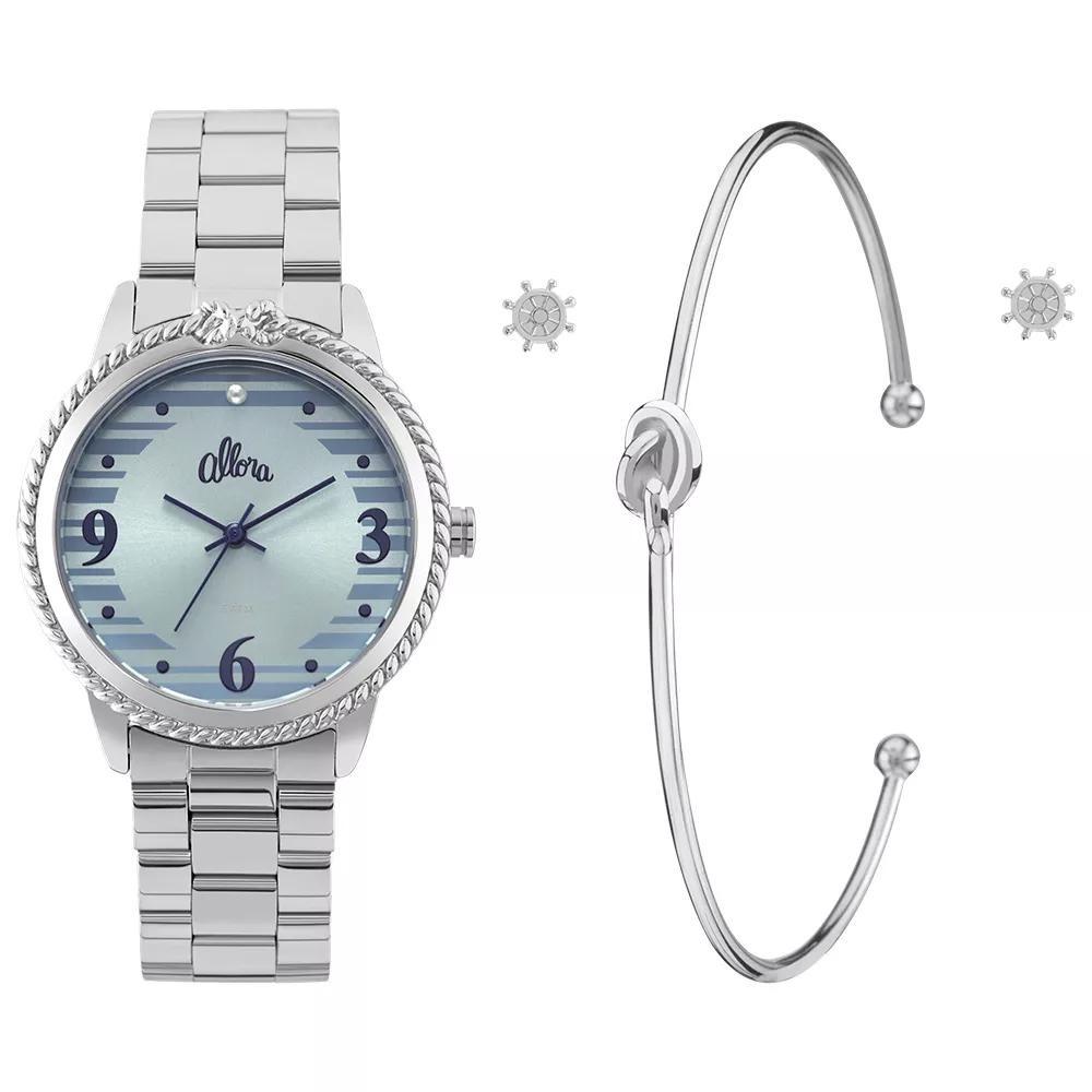 b864218992a kit relógio feminino allora ao mar - al2035fkr k3a. Carregando zoom.