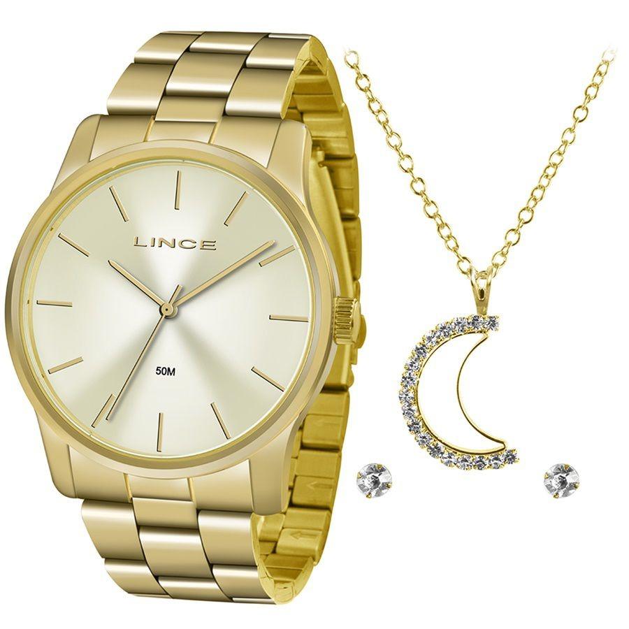Kit Relógio Feminino Lince Lrgj078l Kv57 - R  179,00 em Mercado Livre 1a919f6146