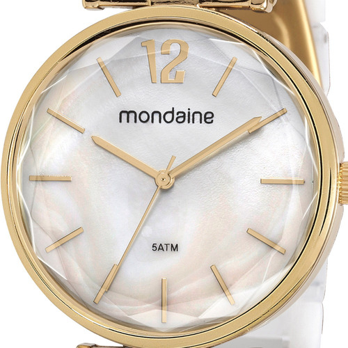 kit relógio feminino mondaine original com garantia e nfe