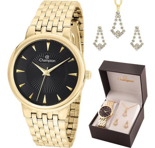 kit relógio feminino original com garantia e nfe