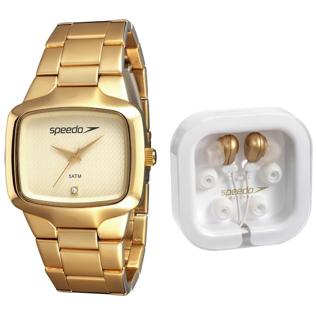 8fe1bb72f4a kit relógio feminino speedo rose + fone de ouvido speedo. Carregando zoom.