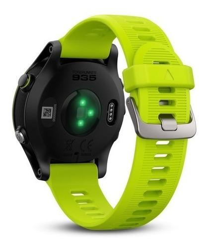 kit relógio garmin 935 forerunner tri bundle garantia nf