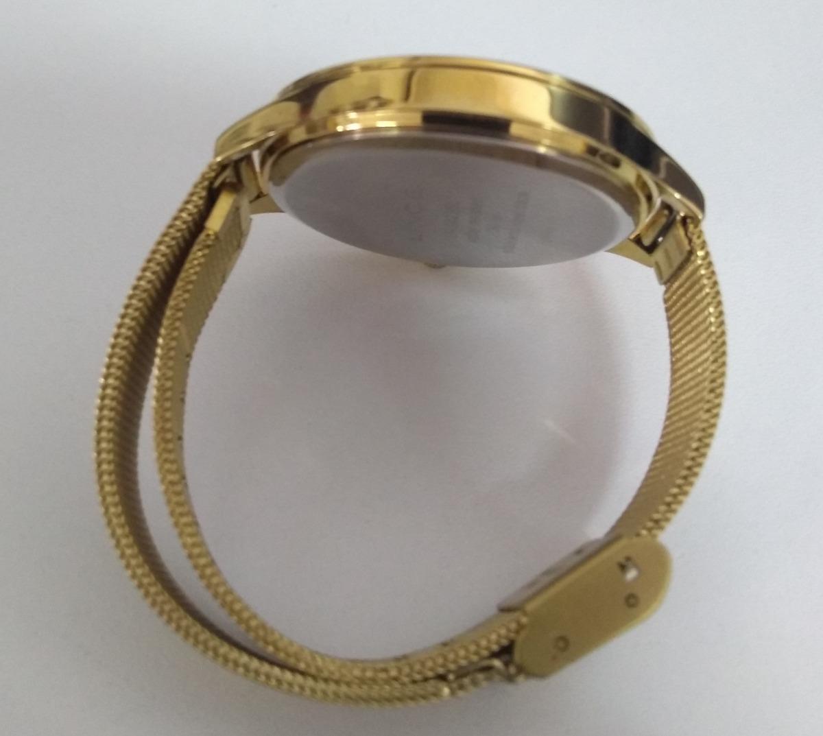 82670cb0d9e kit relógio lince feminino analógico fashion brinco e colar. Carregando  zoom.