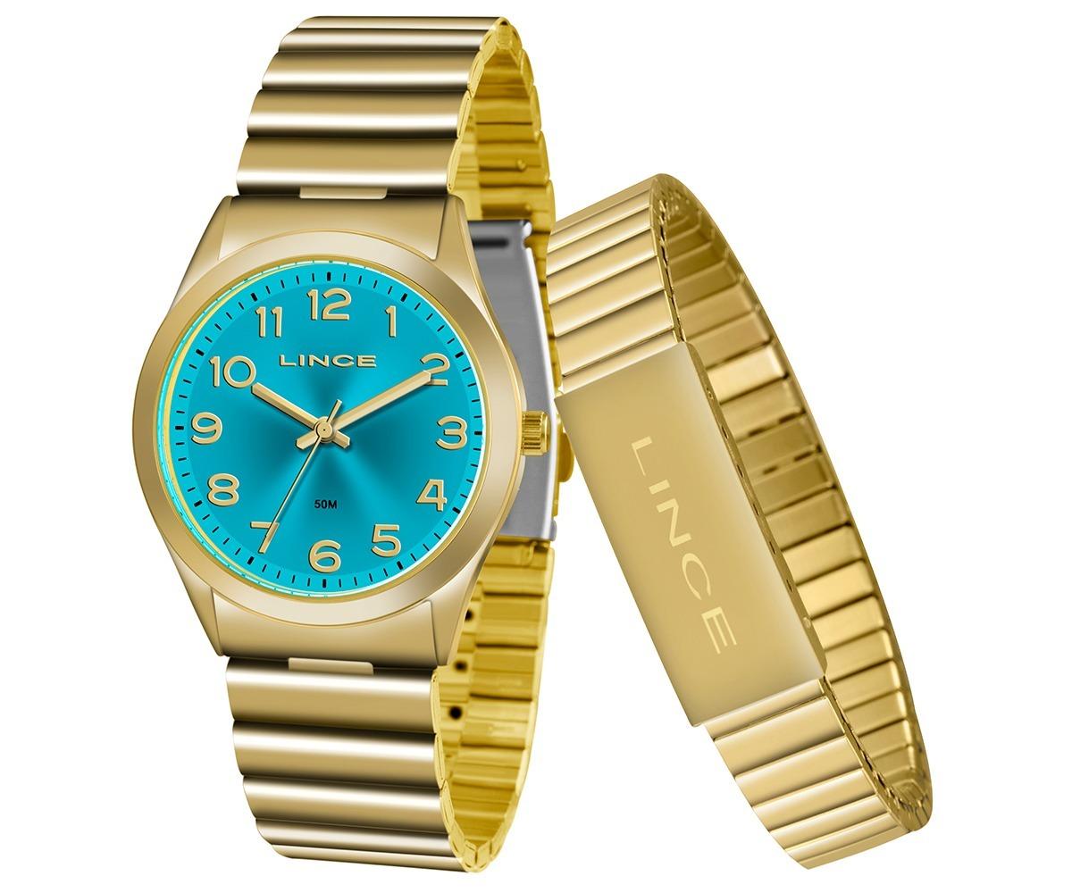 kit relógio lince feminino lgr4455l kt80a2kx com pulseira. Carregando zoom. 75f2cd1ea5