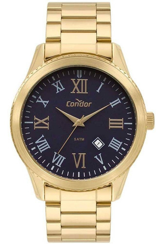 kit relógio masculino condor co2035kuj/5k