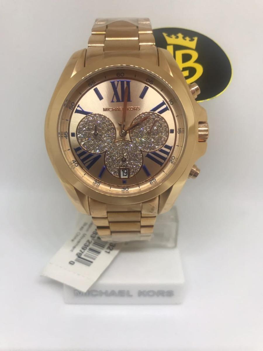 338c3e8b782e1 kit relogio michael kors mk5503 rose gold original garantia. Carregando  zoom.