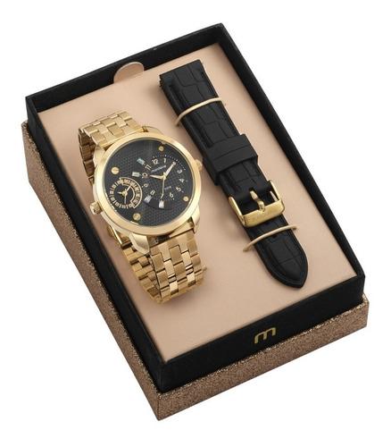 kit relógio mondaine feminino 76715lpmvde4 promo dia dos pai