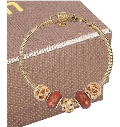 kit relógio mondaine feminino com pulseira 99329lpmvdh1k1