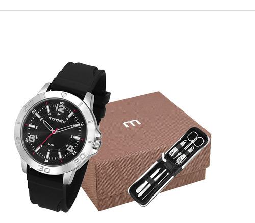kit relógio mondaine masculino 99360g0mvni1k1