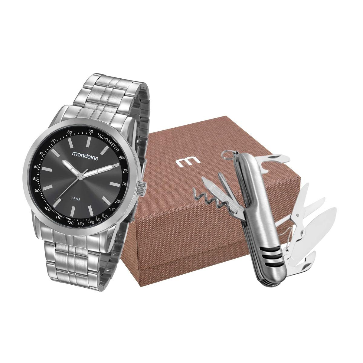 b27b71cc854 kit relógio mondaine masculino canivete 99318g0mgne1k1. Carregando zoom.