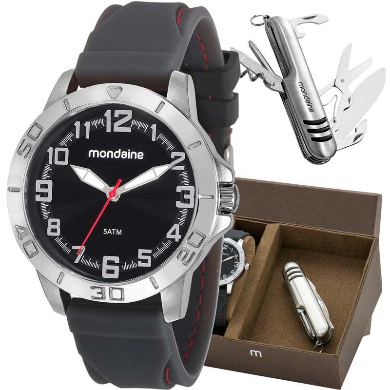1941512fc kit relógio mondaine masculino com canivete 99213g0mvni1k2. Carregando zoom.