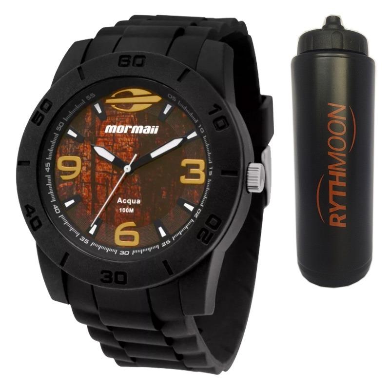14f8448c19de9 kit relógio mormaii masculino acqua + squeeze automático 1lt. Carregando  zoom.