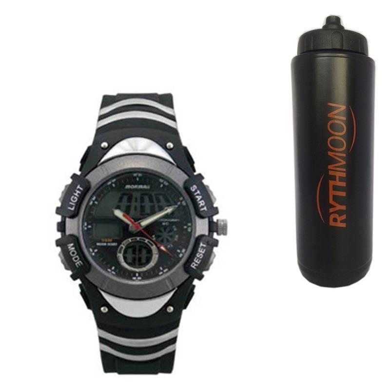7e8a524929bba kit relógio mormaii masculino + squeeze automático 1lt. Carregando zoom.