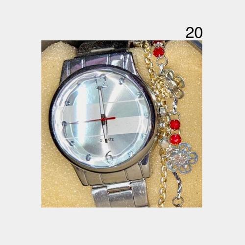 kit relógio + pulseira + caixa feminino   anitta  jundiaí  