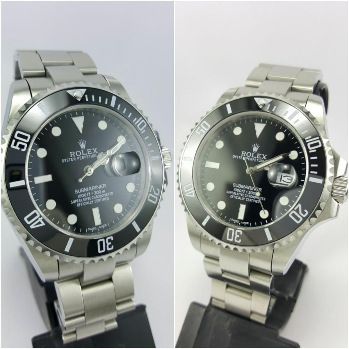 b65df510985 kit relógio rolex submariner dois por preço de um. Carregando zoom.