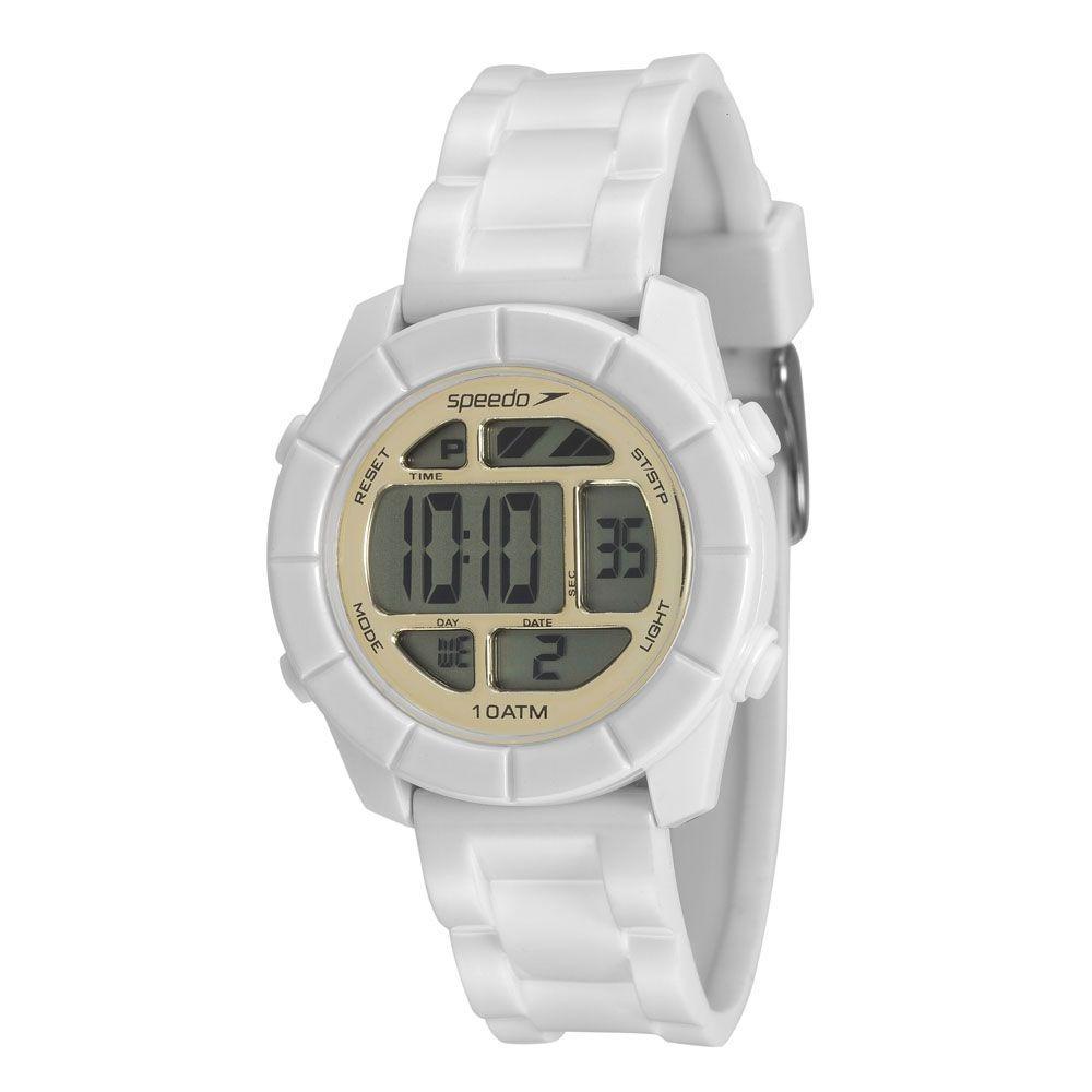 fb0d3bc6d25 kit relógio speedo branco com dourado feminino 80588l0evp2. Carregando zoom.
