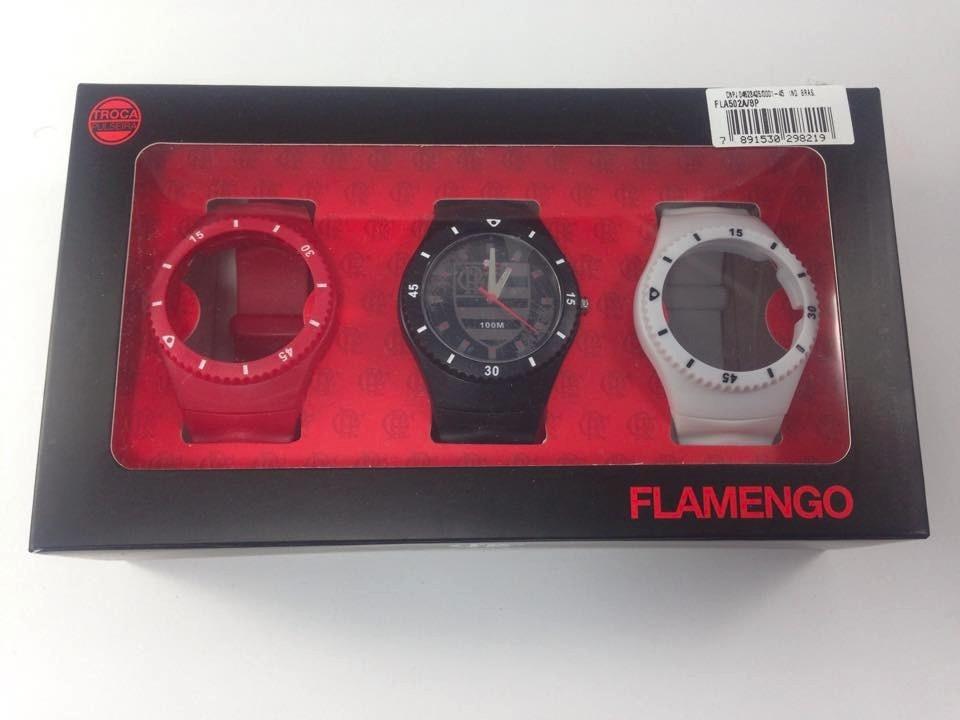 98709e2139800 kit relógio technos fla502a 8p troca pulseira - flamengo. Carregando zoom.
