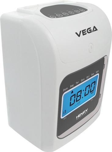 kit - relógio vega + chapeira 15 lugares + 150 cartões