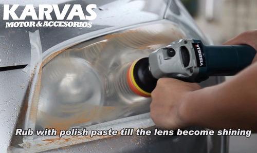 kit repara foco optico completo para pulir limpiar karvas