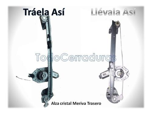 kit reparacion alza cristal  meriva tras izquierdo instalado