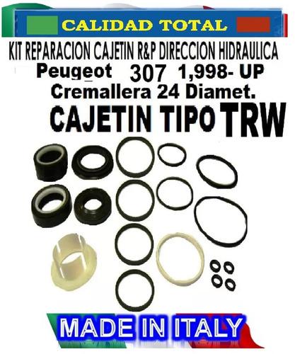 kit reparacion cajetin direc hid. peugeot  307 tipo trw