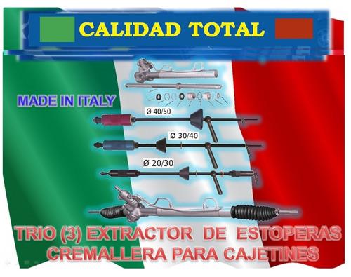 kit reparacion cajetin r&p direc fiesta power cremallera red