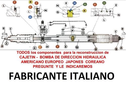 kit reparacion cajetin r&p direccion hidraulica fiesta power