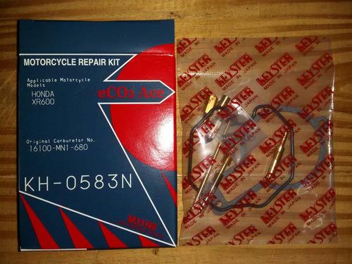 kit reparación carburador japon honda xr 600 zz