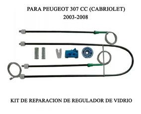 /2008 Peugeot 307/CC Cabriolet Kit de reparaci/ón de elevalunas delantero derecho 2003/