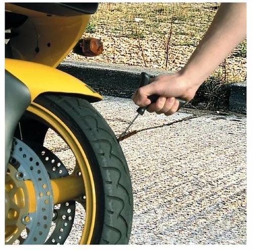 kit reparación portátil llantas pinchada motos carros bici