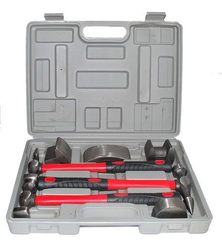 kit reparo automotivo chapeador 7 peças dm ferramentas