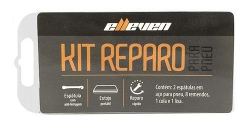 kit reparo bike elleven com 2 espatulas mtb