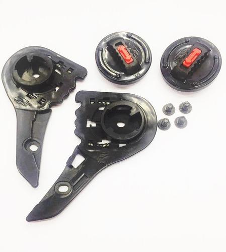 kit reparo capacete ls2 ff 358 ff 396 ff 322 completo- 1234p