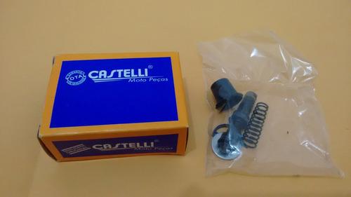 kit reparo cilindro mestre titan 125 es castelli