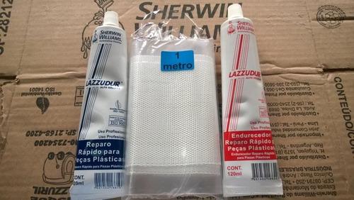 kit reparo de para-lamas maxirubber veda choque