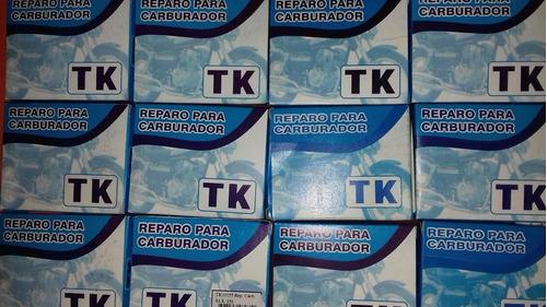 kit reparo do carburador honda cg 125 titan es/ks anos 00/02