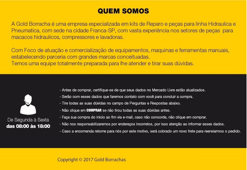 kit reparo macaco jacare potente brasil