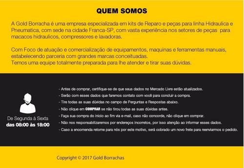 kit reparo macaco jacare potente brasil  + completo