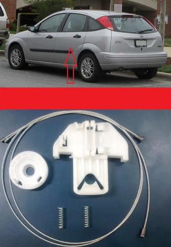 kit reparo máq vidro elétrico focus traseiro lado esq