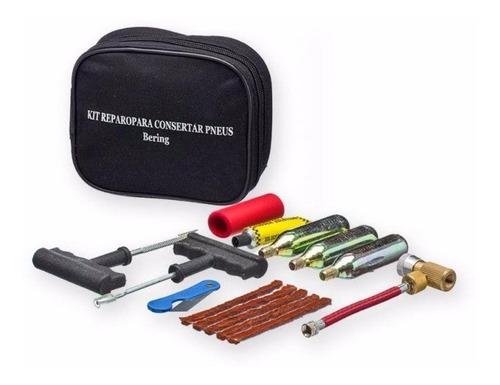 kit reparo para consertar pneu de moto bering - macarrão