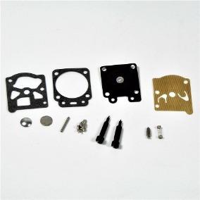 kit reparo walbro carburador dle 55cc 61cc 85cc c/ agulhas