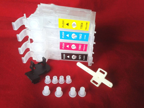 kit reposição cartuchos bulk xp214 xp411 xp204 xp401