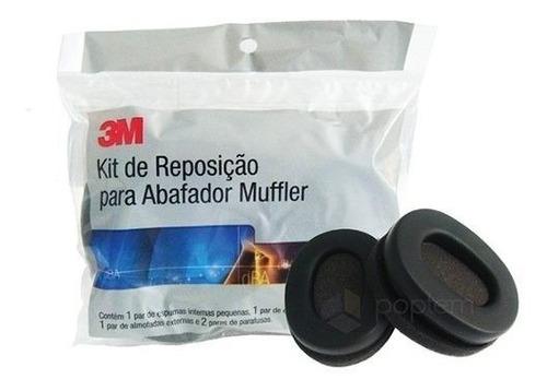 kit reposição espuma 3m pomp muffler-21db
