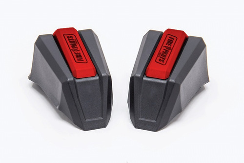 kit repuesto slider ghost gris y rojo (2 lados) fire parts
