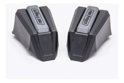 kit repuesto slider ghost negro-gris fire parts (2 lados)