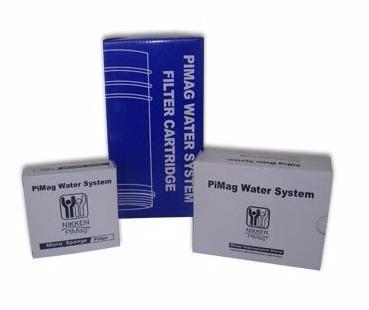 kit repuestos filtro agua pimag water system nikken - gratis