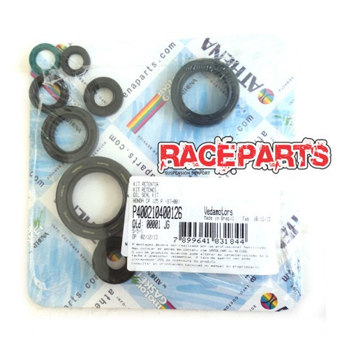 kit retentores do motor yamaha yz125 01-04 athena completo