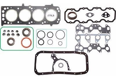 kit retifica motor aço c/ ret corsa 1.0 8v 94/03-98 efi mpfi